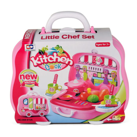 Classic Cooking Kitchen Set Toys For Home Pretend Play - 17PCS-0