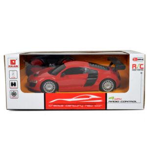 4 Way Remote Control Super Racing Car - Red-0