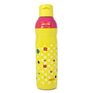 Milton Kool Peer Barbie 900 Insulated Water Bottle - Yellow/Pink-0