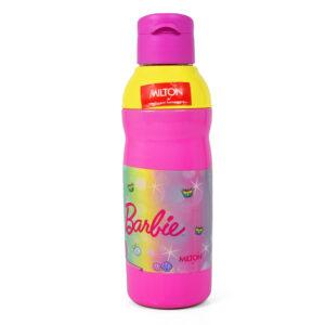 Milton Kool Peer Barbie 600 Insulated Water Bottle - Yellow/Pink-0