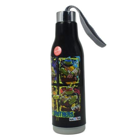 Nayasa Whip Insulated Water Bottle 600ml - Black-0