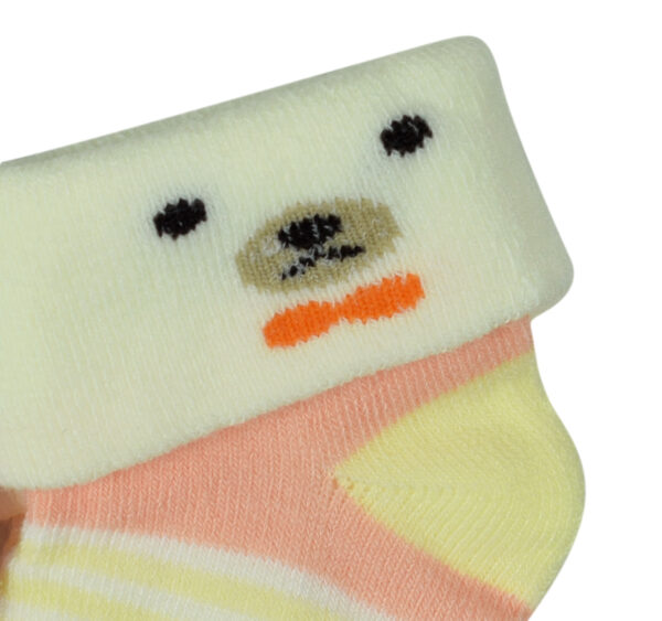 New Born Baby Socks Pack of 2 - Multicolor-27967