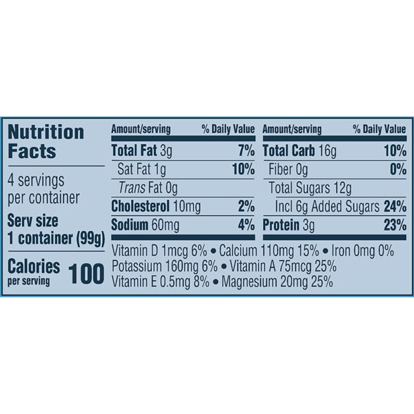 Gerber Yogurt Blends Snack Mixed Berry 4-99gm Cups-27369