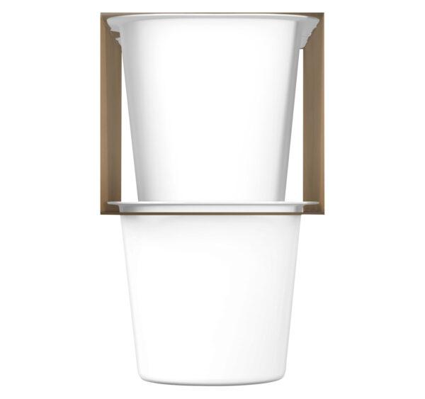 Gerber Yogurt Blends Snack Mixed Berry 4-99gm Cups-27358