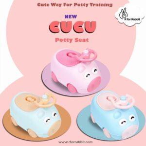 R for Rabbit Cucu Potty Training Set-0