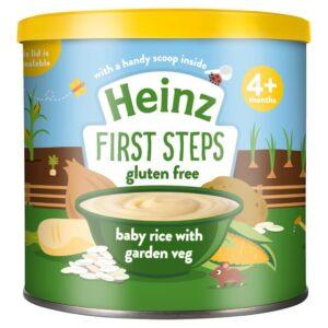 Heinz First Steps Baby Rice with Garden Veg (4M+) - 200gm-0