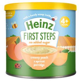 Heinz Creamy Peach & Apricot Porridge (4M+) - 240 gm-0