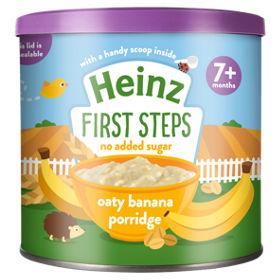 Heinz First Steps Oaty Banana Porridge (7M+) - 240gm -0