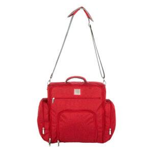 MeeMee Multipurpose Diaper Bag Backpack - Red-0