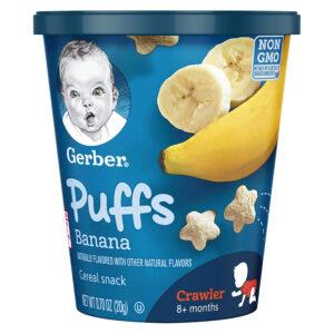 Gerber Puffs Banana Snack Cup - 20gm-0