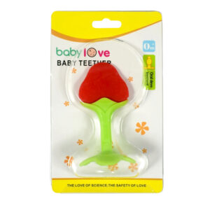 Baby Teether for Oral Development - Green/Red-0