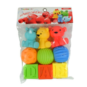 Soft Choo Choo Bath Toys, Squeeze Me Toy - Multicolor-0
