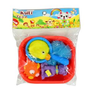 Soft Choo Choo Bath Toys, Squeeze Me Toy - Animal-0