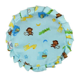 Mustard Seed, Rai Pillow For Baby Head Shaping - Aqua-0