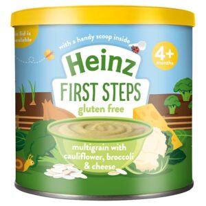 Heinz First Steps Multigrain Cauliflower Broccoli Cheese - 200G -0