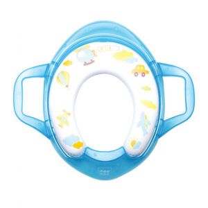Mee Mee Cushioned Non-Slip Potty Seat with Easy Grip Handles - Blue-0