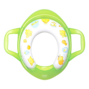 Mee Mee Cushioned Non-Slip Potty Seat with Easy Grip Handles - Green-0
