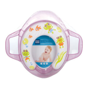 Mee Mee Cushioned Non-Slip Potty Seat with Easy Grip Handles - Purple-0