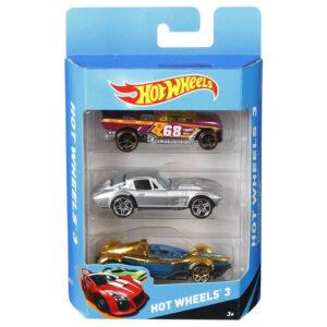 Hot Wheels 3 Car Pack (Multicolor)-0