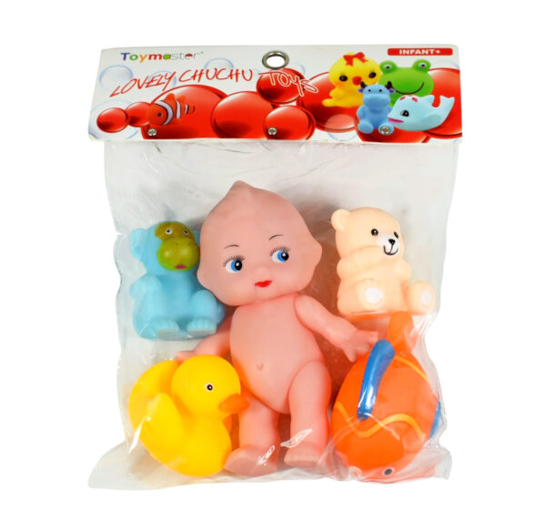 Soft Choo Choo Bath Toys, Squeeze Me Toy-0