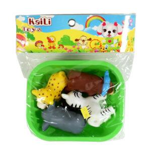 Soft Choo Choo Bath Toys, Squeeze Me Toy - Animals-0