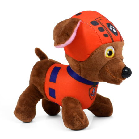 Paw Patrol Soft Plush Toy for Baby - Brown/Red-0