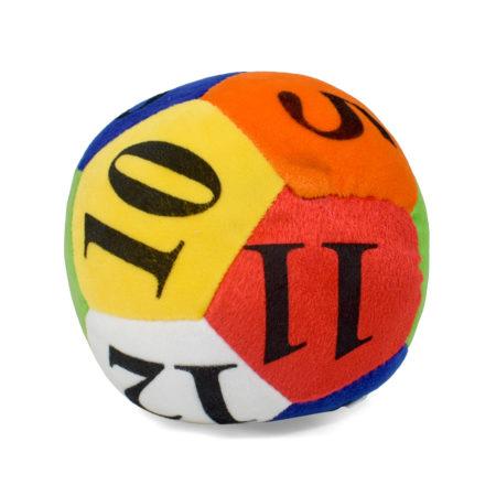 Numeric Soft Ball, Polygon Design - 41 cm-0