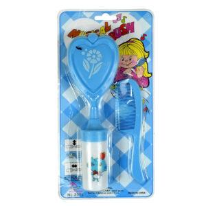 Baby Musical Hair-Brush & Comb Set - Sky Blue-0