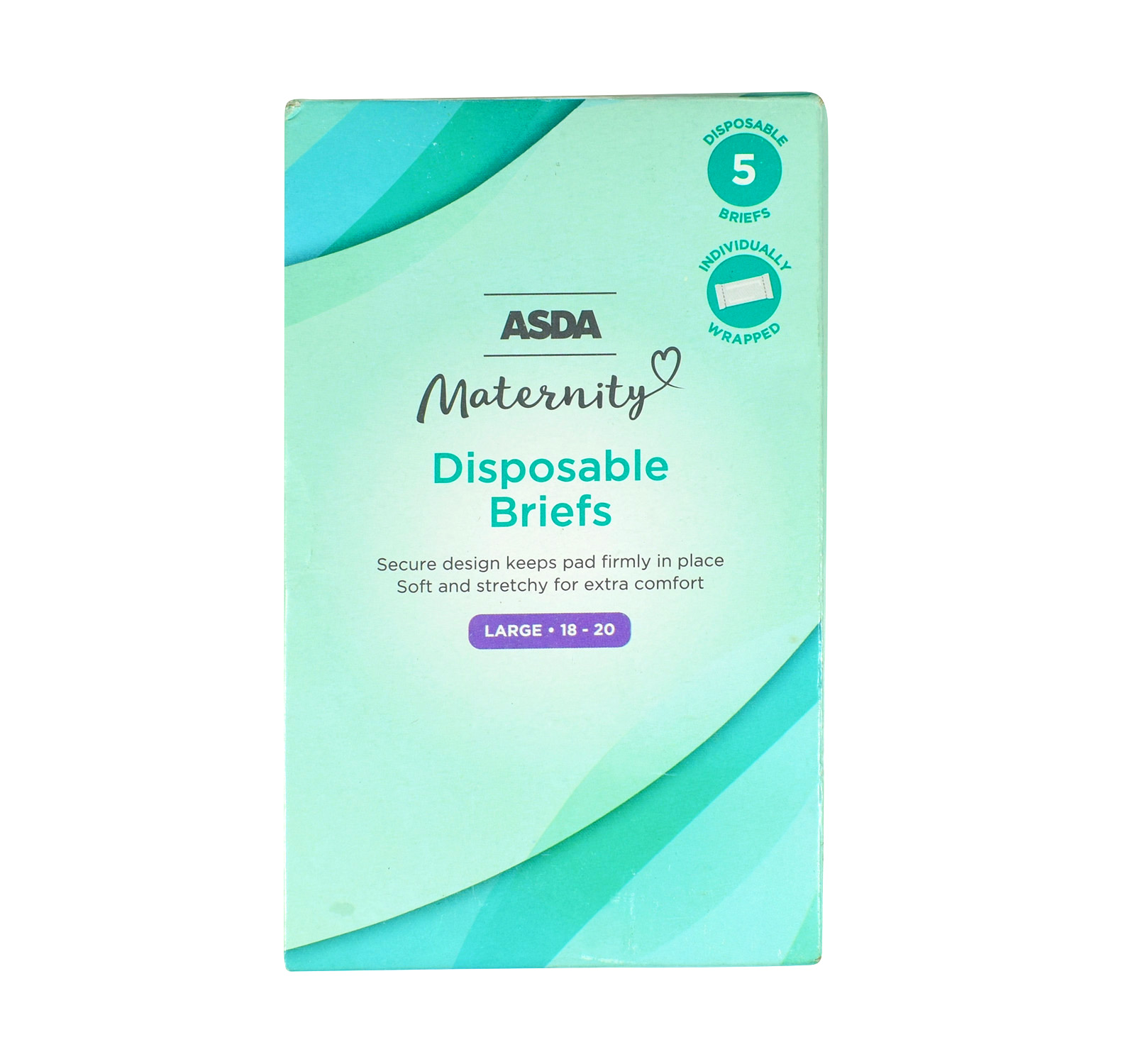 Asda 5 Disposable Maternity Panties Briefs Large 18 20 Baby S World
