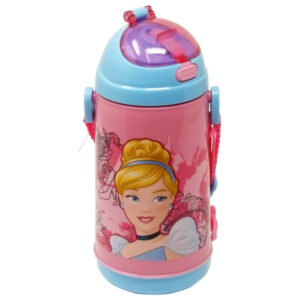 Disney Cinderella Plastic Sipper Bottle - 600 ml-0