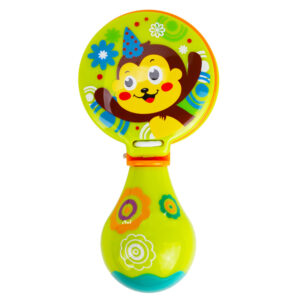 Premium Quality Baby Musical Rattle Castanets - Green-0
