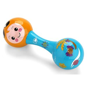 Orff Music Set Maraca Shaker,Baby Sand Hammer Rattle - Multicolor-0