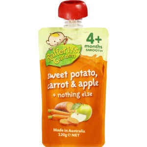 Rafferty's Garden Sweet Potato, Carrot and Apple Smooth Baby Food-0
