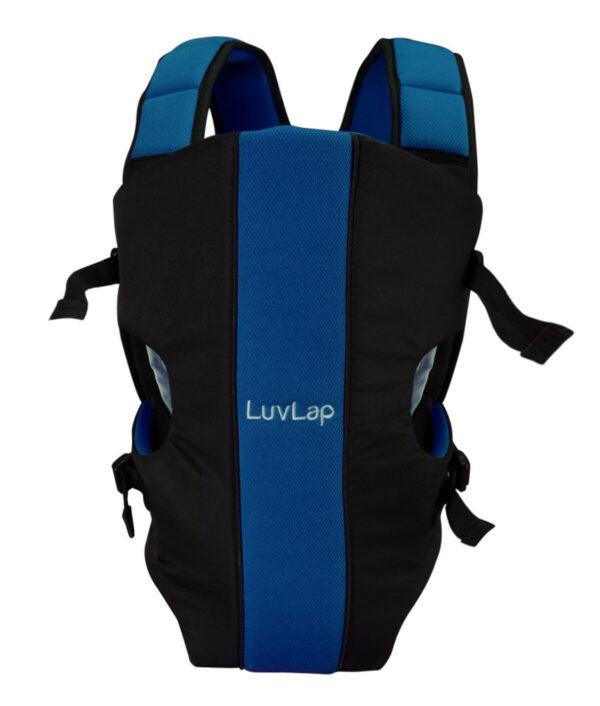 LuvLap Sunshine Baby Carrier (18283) - Black/Blue-29561