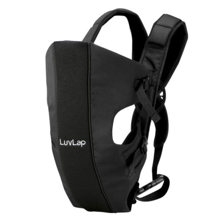 LuvLap Sunshine Baby Carrier (18282) - Black-0