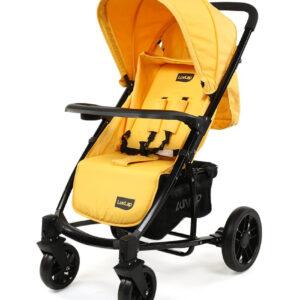 LuvLap Elite Baby Pram Stroller 18353 - Yellow-0