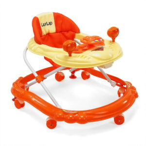LuvLap Starshine Baby Walker - Orange-0