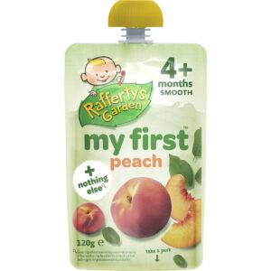 Rafferty's Garden My First Peach Baby Food (4M+) - 120gm-0