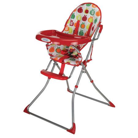 LuvLap Sunshine Baby Highchair (18380) - Red-0