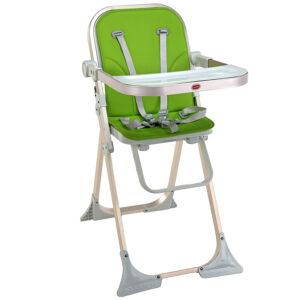 Luvlap Comfy High Chair (18450) - Green-0