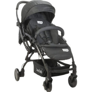 Luvlap Royal Baby Stroller Pram (18415) - Black-0