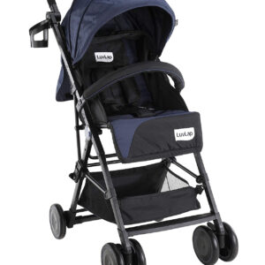 LuvLap Magic Stroller with Compact Tri-fold (18490) - Black-0
