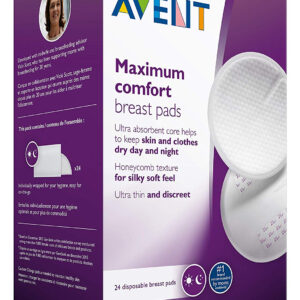 Philips Avent Disposable Breast Pads, Pack of 24-0