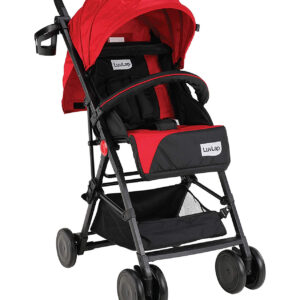 LuvLap Magic Stroller with Compact Tri-fold (18491) - Red-0