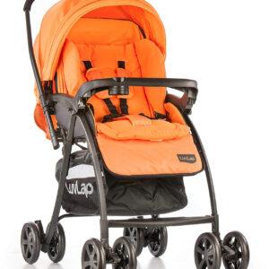 LuvLap Grand Baby Stroller (18316) - Orange-0