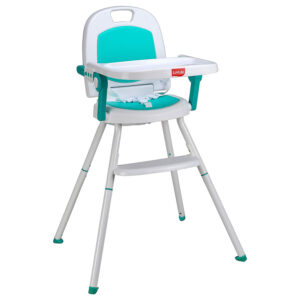 Luvlap Cosmos 3 in 1 high Chair (18495) - Green-0