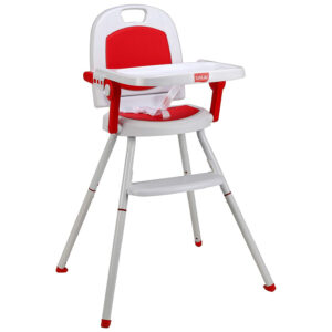 Luvlap Cosmos 3 in 1 high Chair (18494) - Red-0