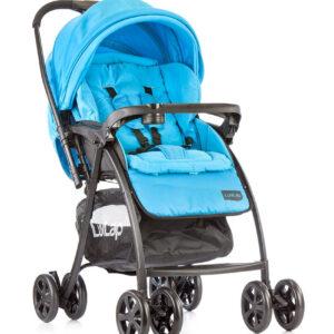 LuvLap Grand Baby Stroller (18317) - Blue-0