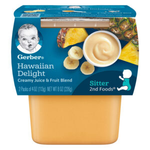Gerber 2nd Foods,Hawaiian Delight Baby Food, 113gm Tube, 2-Count-0