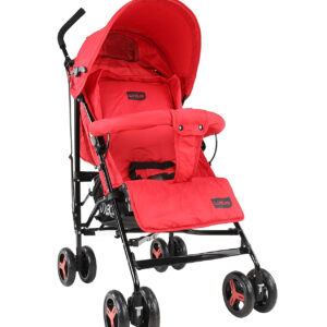 Luvlap Joy Baby Stroller Buggy (18471) - Red-0